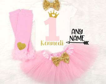 princess first birthday outfit crown first birthday outfit royal first birthday outfit princess first birthday personalized first birthday
