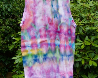 Tie-Dyed Ribbed 100% Cotton tank top/undershirt                                                          7