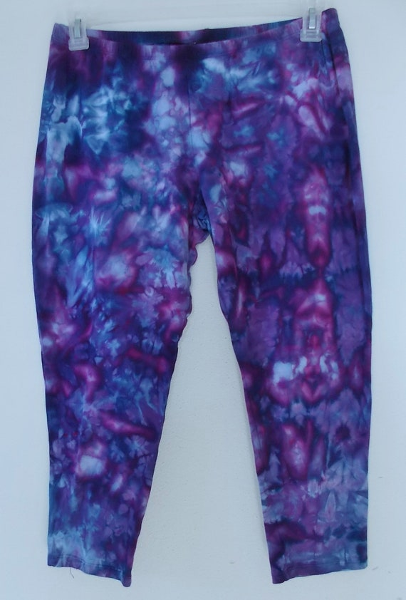 Capri Length Leggings XL Cotton Spandex