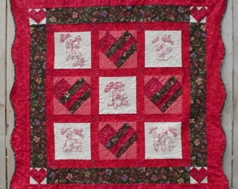 Prairie Sweethearts Sunbonnet Sue Quilt Pattern