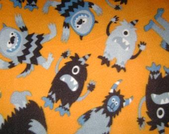 Little Monsters Kids Fleece Blanket