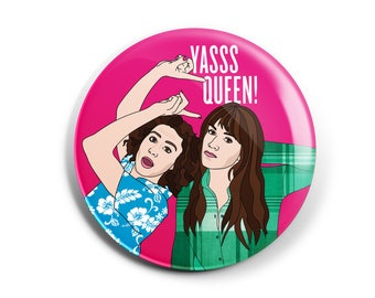 Broad City Button