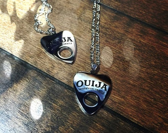 Ouija Planchette Pendant ~ ouijaboard ~ Witchcraft ~ Paganism ~ Pagans ~Yule