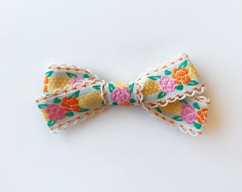 Floral Fiesta Bow