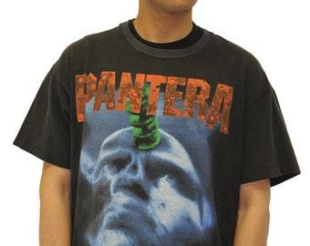 Vintage Pantera 1995 World Tour T-Shirt Size XL
