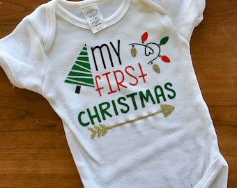 First Christmas, baby's first Christmas