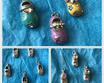 Baby & Little Girl Shoe Charms