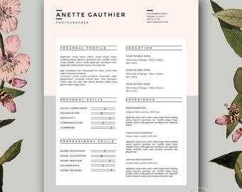 Beauty resume | Etsy