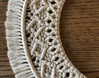 Macrame Wreath / Macrame Mandala / Macrame Wall Hanging / Macrame Wall Decor