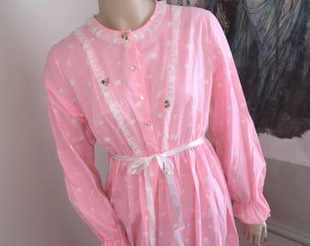 Katz Long Vintage Night Gown
