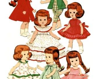 Lingerie Lou Doll Clothes Pattern Vogue 7972 PDF Instant Download ePattern