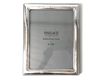 Wallace Sterling Silver 8 by 10 Photo Frame