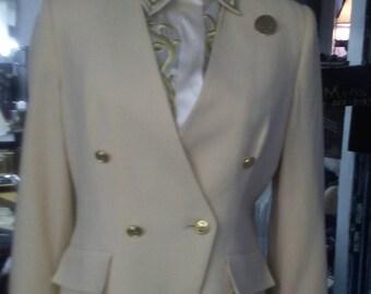 Herbert Grossman Wool Crepe Blazer