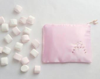 Makeup Kit makeup pouch pink