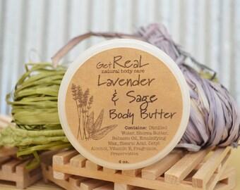 Lavender & Sage Body Butter