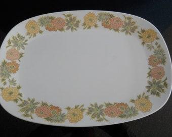 Noritake Sunny Side Progression China #9003 Japan Large Size Serving Platter