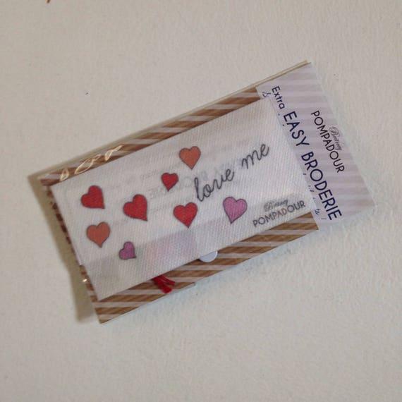 Extra EASY BRODERIE - Love, love, love