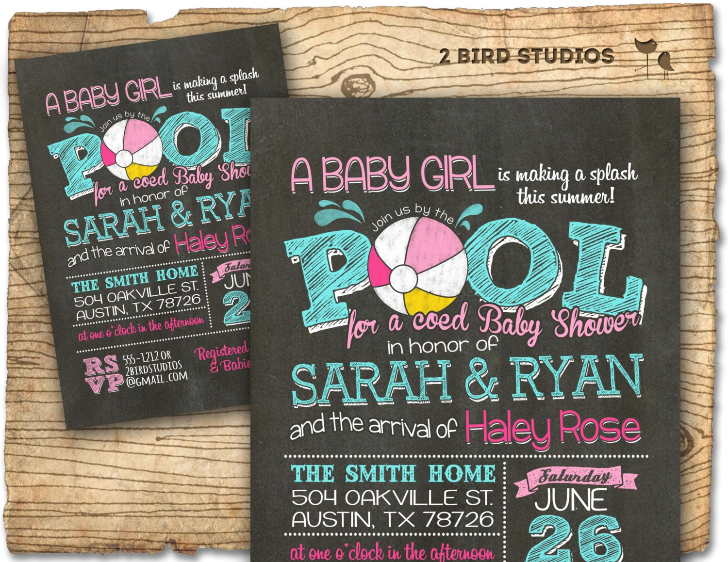 baby shower invitation with photo - Ideal.vistalist.co