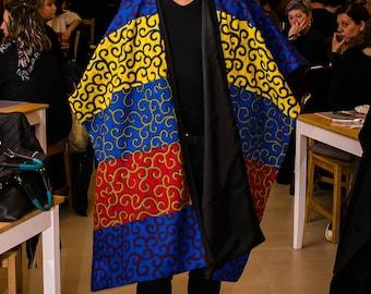 LICÀ ankara poncho /ankara style /Ankaradress/ankarafashion/africanprint/africanstyle/Africa fashion/ankaraponcho /ankarajacket