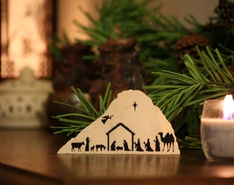 Classic Nativity- Granite Decor