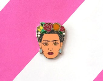 Enamel Pin - Frida Kahlo - Boss Babes Collection