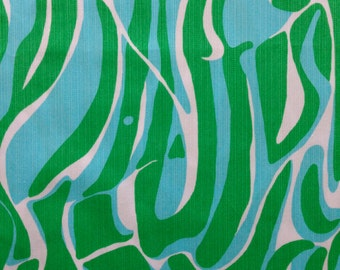 "resort white finders keepers dobby cotton fabric square 18""x18"" ~ lilly spring 2015 ~ lilly pulitzer"