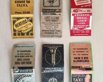 Vintage Matchbook Lot #3