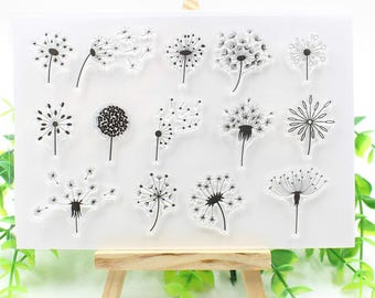 Dandelion Clear Stamp Set