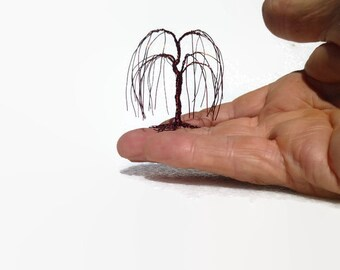 Miniature Wire Weeping Willow tree