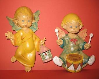 Vintage Angel Children Wall Hangings