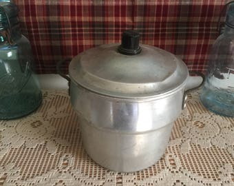 Vintage Pail with Lid