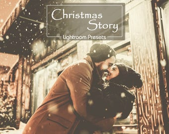 "20 ""Christmas Story"" LR Presets: vsco inspired, blogger, fashion, bright preset, family presets, winter presets, retro, dreamy, light,"