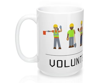 Volunteer Life Coffee Mugs 11Or 15 Oz