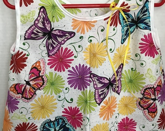 Little Girl top with Butterflies