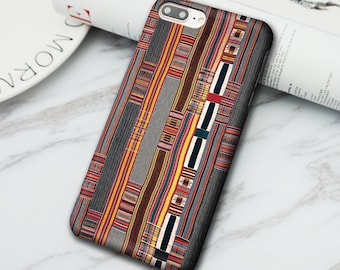 African fabric 3D Print Phone Case for Iphone 6 6S 6 plus 6S Plus 7 7 Plus / Samsung Galaxy S6 S7 S6/S7 dge/S8 Phone Shell