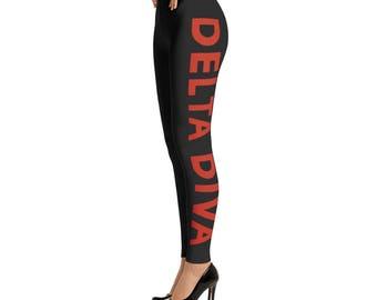 Delta Sigma Theta Diva Leggings