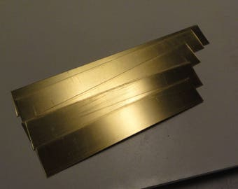 "Brass .040"" / 18 ga -- .75"" wide strip variety pack"