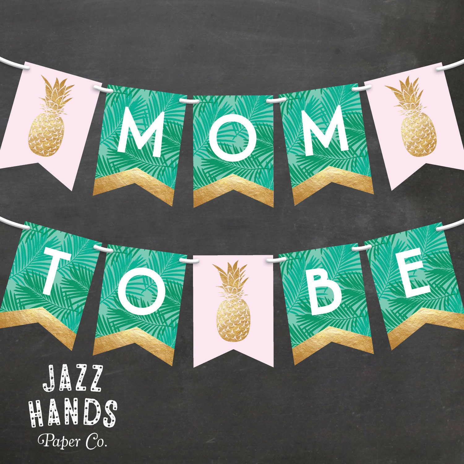 Homemade baby shower banner ideas