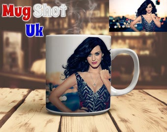 Katy Perry Style Coffee Mug Fan Gift