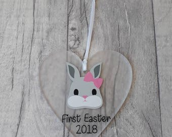 First Easter Gift, Personalised Easter Decoration, Personalised Easter Gift, Personalised 1st Easter, Easter Decoration, Easter Bunny Gift.