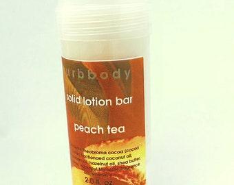 Peach Tea Solid Lotion Bar - End of Summer SALE