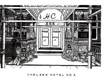Chelsea Hotel No. 2 // Giclée Art Print