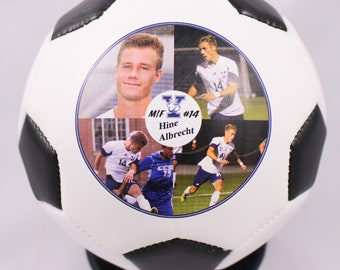 Coaches Gift, Soccer Coach, Soccer Ball, Photo Ball, Soccer Ornament, Coach Gifts, Teacher Appreciation, Appreciation Gift, MVP Awards, Team