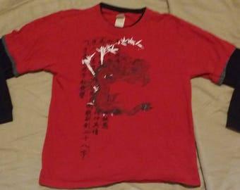 Faded Glory boys dragon print long sleeve shirt