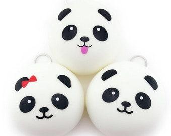 PANDA BUN SQUISHY slow rising