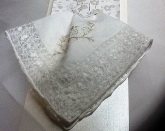 Wedding Handkerchief Card