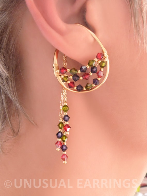 gold filled unpierced earrings non pierced ear cuff gold filled unpierced earrings non pierced color 4623
