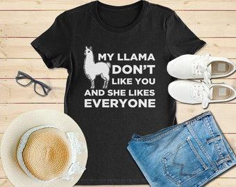 Llama shirt, llama gift, llama tshirt, llama t shirt, llama funny shirt,drama llama tshirt, llama gift shirt, llama mama , llama mama shirt