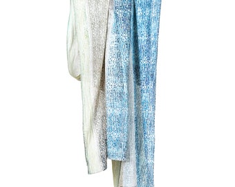 Digitally Printed Extra Large Cotton Scarf