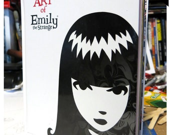 The Art of Emily The Strange Vol 1 by Rob Reger Buzz Parker Fine Art and Design Collection Emily Black Cats Kitties Comics Graphic hardcover